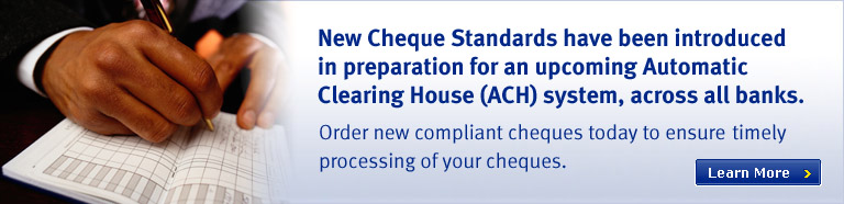 New cheque standards required by ECCB