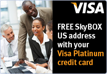 Visa Platinum and SkyBox
