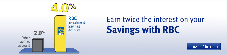 Earn twice the interest on your Savings with RBC!