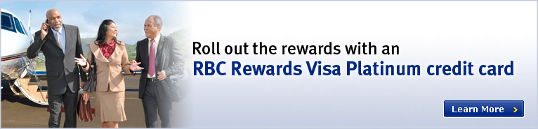 Roll out the Rewards with RBC Rewards Visa Business Platinum!