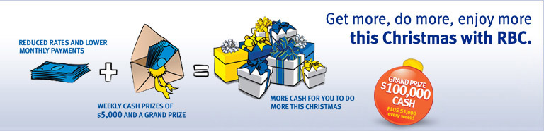 Get more, do more, enjoy more this Christmas with RBC!