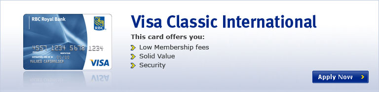 Visa Classic International