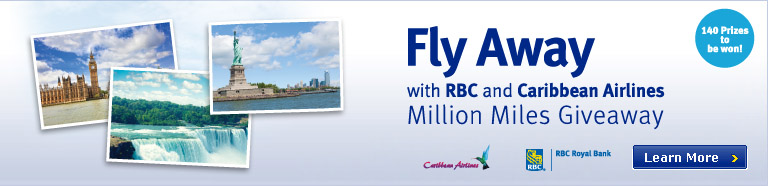 Fly Away with RBC and Caribbean Airlines Million Miles Giveaway!