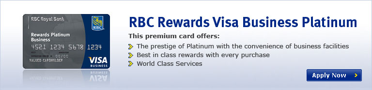 RBC Rewards Visa Business Platinum
