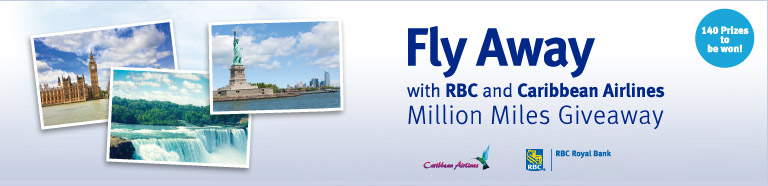Fly Away with RBC and Caribbean Airlines Million Miles Giveaway